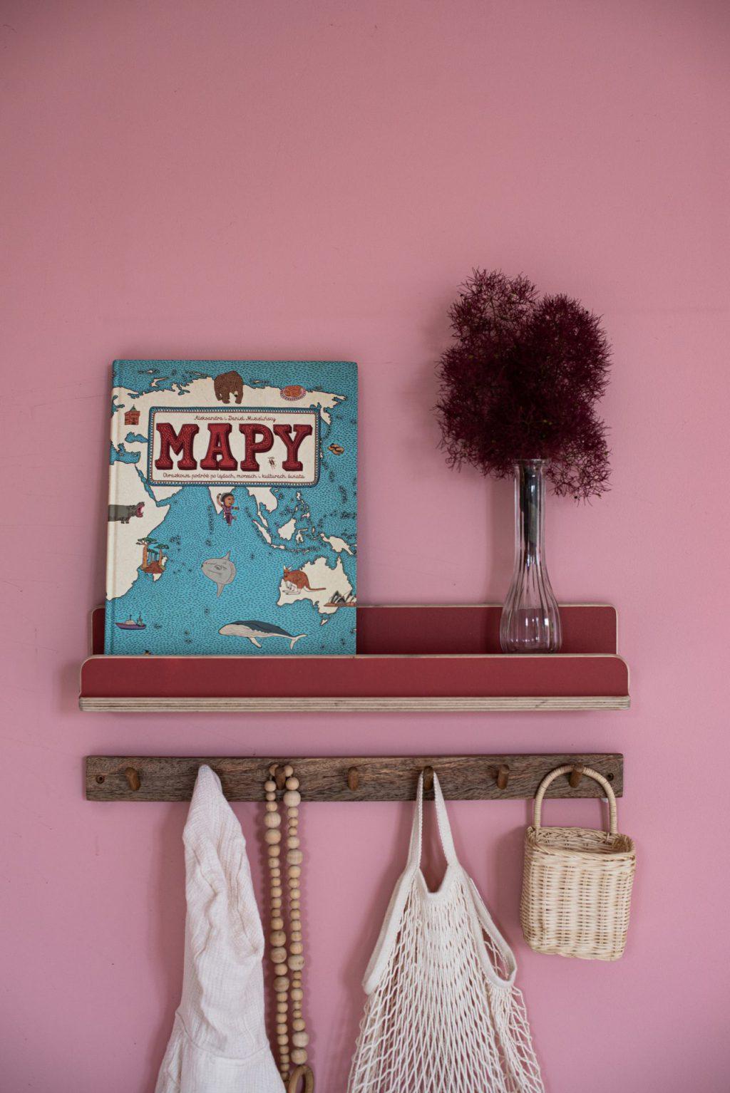 Półka na książki dla dzieci, kolekcja kubi