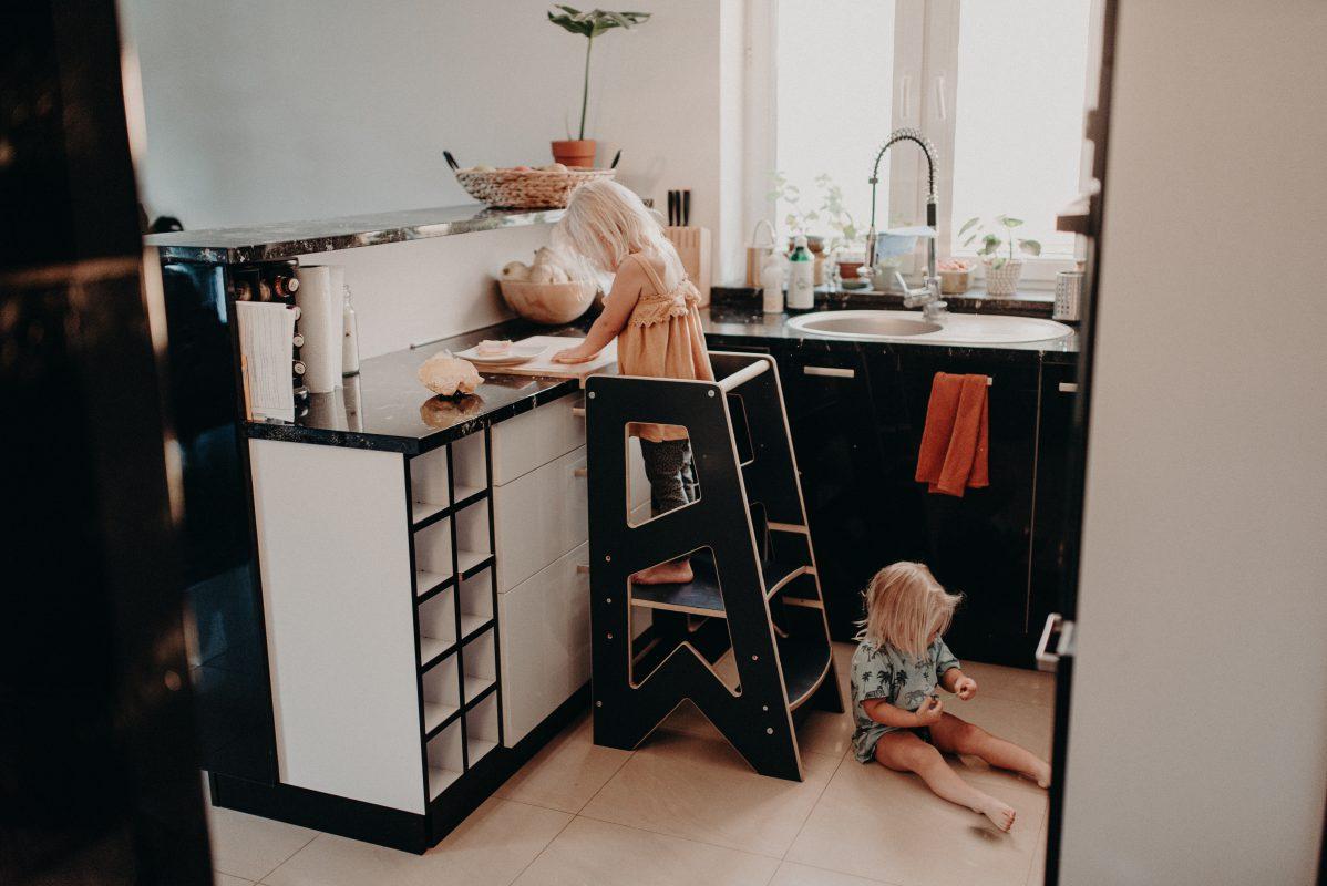 Kitchen helper, pomocnik kuchenny kubi kuk w kuchni