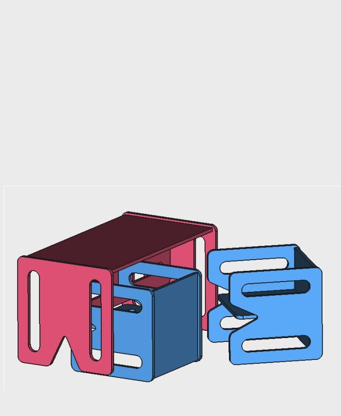 zestaw mebli kubi set 4